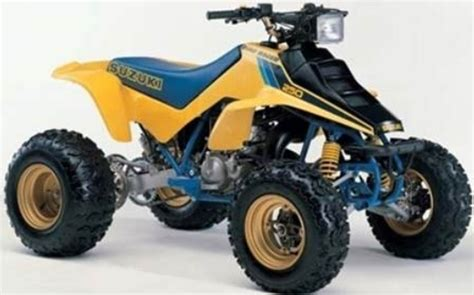 Suzuki Quadzilla Banned Facts Atv History Motosport