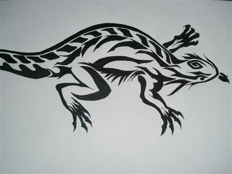 bearded dragon tattoo designs bearded trible by erbse lp on deviantart