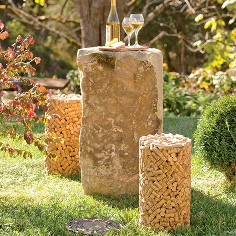 Kitchen Bathroom Design Software by Cork Shaped Stool Made From Genuine Wine Corks The Green