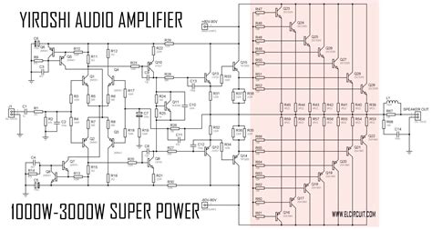 Power 1000 Watt 1000 watts lifier circuit diagram wiring diagram