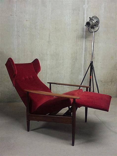 mid century danish design recliner chaise lounge wingback chair bestwelhip