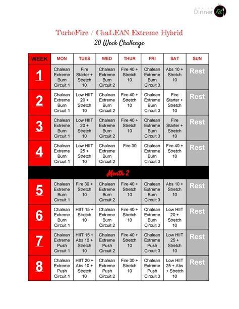 Chalean Workout Calendar Search Results For Chalean Schedule Calendar 2015
