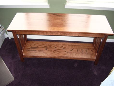 mission style sofa tables mission style sofa table by hts lumberjocks