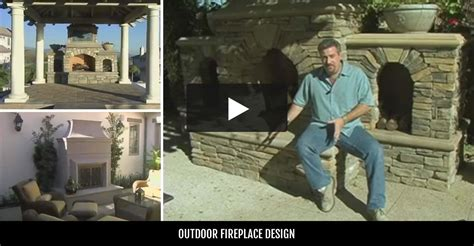 How To Build An Outdoor Wood Burning Fireplace - outdoor fireplace backyard fireplace designs and ideas the concrete network