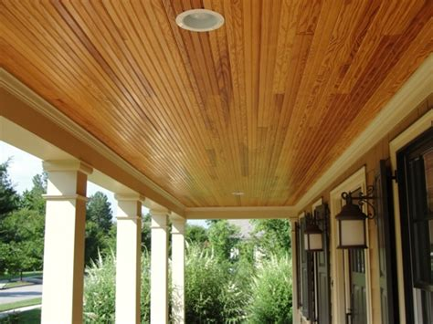 how to install a beadboard ceiling in a porch how to