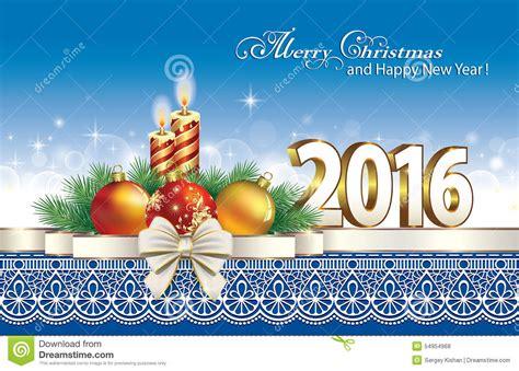 imagenes feliz navidad 2016 feliz navidad 2016 ilustraci 243 n del vector imagen 54954968