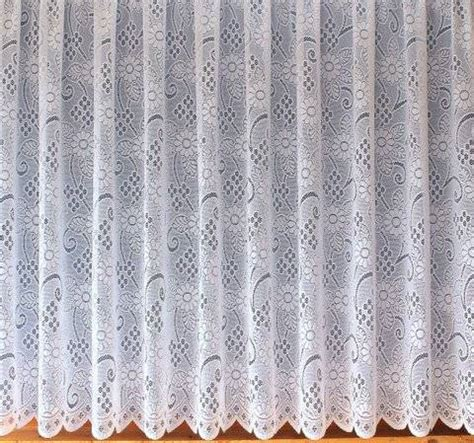 nottingham lace curtains white allover lace design lady jayne white net curtain