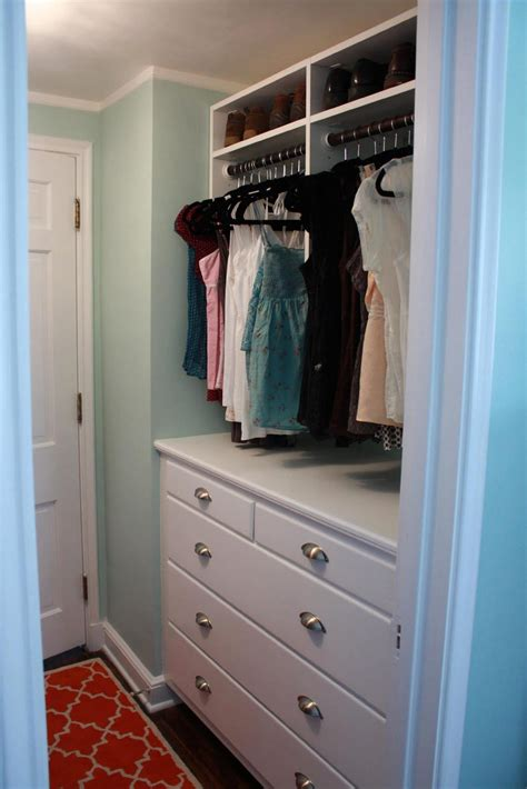 master closet built in dresser for small master bedroom
