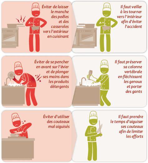 les fran軋is et la cuisine risques professionnels des m 233 tiers de bouche et de cuisine