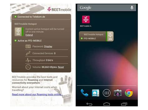 android hotspot app beetmobile wifi hotspot app aplikacja android pobierz