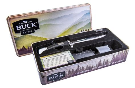 Buck Knives Sweepstakes - save 30 on 75th anniversary buck 119 special mumblebee inc