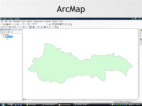 tutorial arcgis en français introduction to arccatalog and arcmap