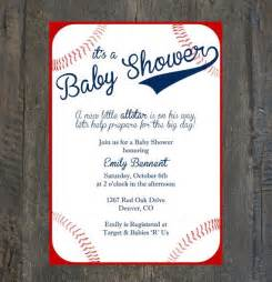 Baseball Baby Shower Invitation Templates by 25 Best Ideas About Baseball Invitations On