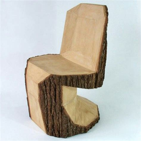Wood Stump Chair by Tree Stump Chair Eco Design Colonization