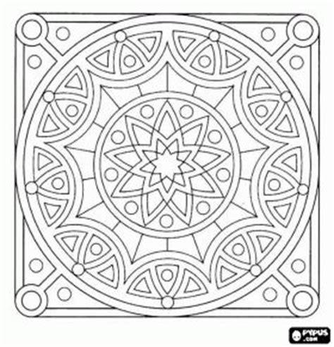 square mandala coloring pages simple square mandala coloring pages www pixshark com