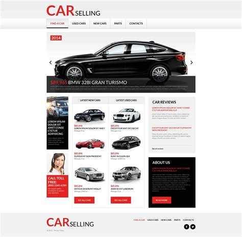 car html template car rental moto cms html template 53633