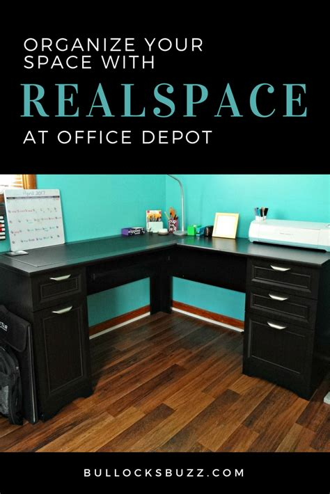 Magellan Collection Desk Organize Your Space With Realspace The Magellan