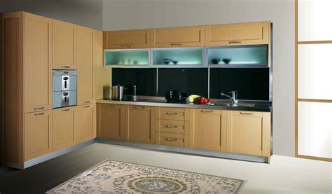 Glass Wall Kitchen Cabinets by China 0 5mm Pvc Membrane Mdf Kitchen Cabinet With