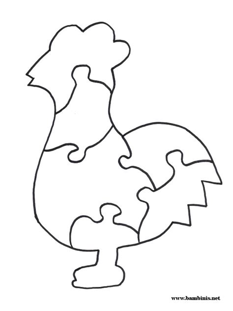 printable animal puzzles printable cut out shapes az coloring pages