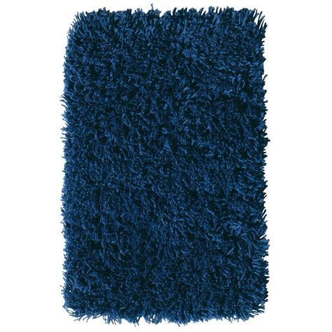 ultimate shag rug home decorators collection ultimate shag blue 5 ft x 7 ft area rug 7575435310 the home depot