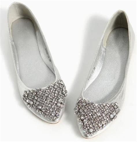 silver flat shoes womens silver shoes for 18