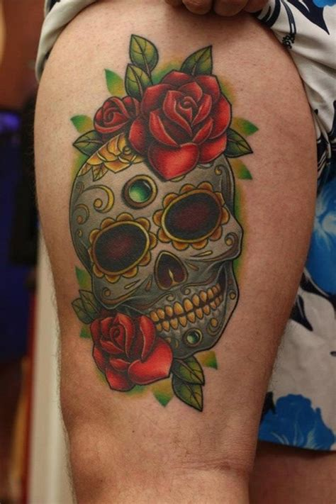 dead rose tattoo meaning 40 sugar skull meaning designs
