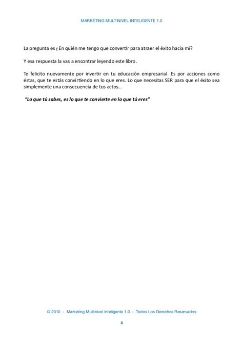 acknowledgement letter of cancellation marketing multinivel inteligente 1 0