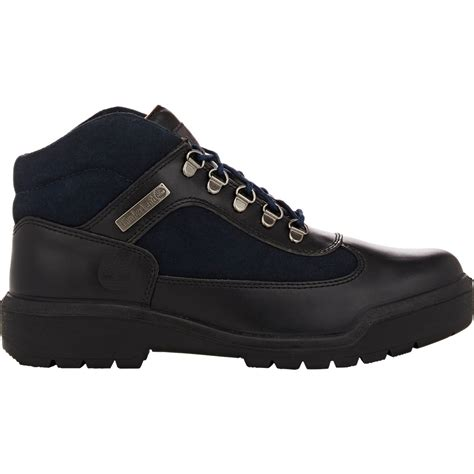 all timberland boots mens timberland s field boots in black for lyst