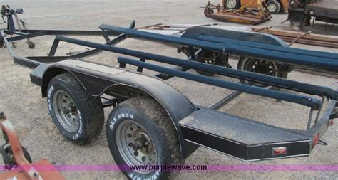 used bass boat trailers road runner 18 bass boat trailer item e7562 sold may