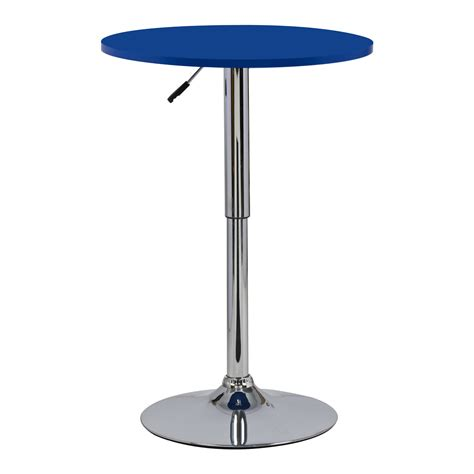 Adjustable Bistro Table Bar Table Bistro Table Mdf Kitchen Dining Adjustable Swivel Pub Table U054 Ebay