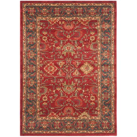 4 X 5 Area Rugs Safavieh Mahal Navy 4 Ft X 5 Ft 7 In Area Rug Mah693f 4 The Home Depot