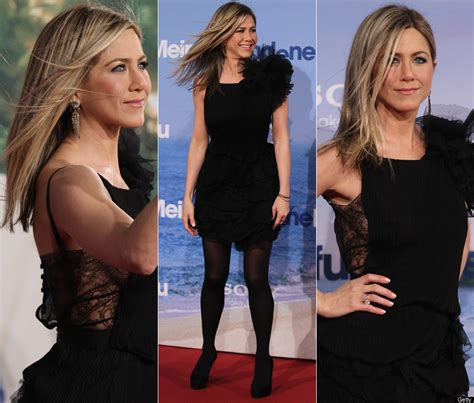 Lepaparazzi News Update Aniston Tops Hairstyles Poll by Aniston Debuts New Haircut In Madrid Photos