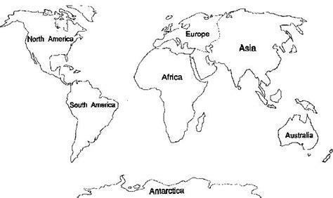 coloring pages geography printable 7 continents coloring pages world map printable