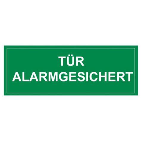 Folienaufkleber Preise by Folienaufkleber Quot T 252 R Alarmgesichert Quot Wagner Sicherheit