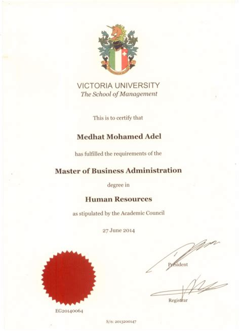 Free Mba Certificate by Mba Certificate