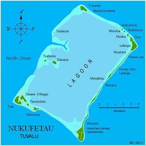 tuvalu on world map pacific wrecks nukufetau atoll tuvalu