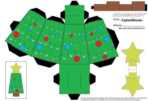 Tree Papercraft - cubee tree by cyberdrone on deviantart