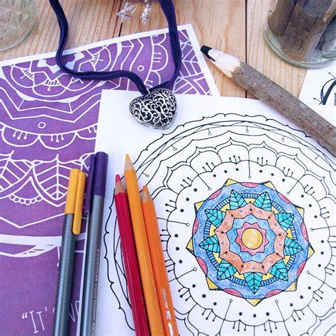 coloring book mandala vol 1 books mandala coloring book vol 1 digital file cat
