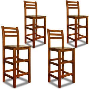 lehne stuhl deuba 174 barhocker mit lehne 4er set barstuhl tresenstuhl