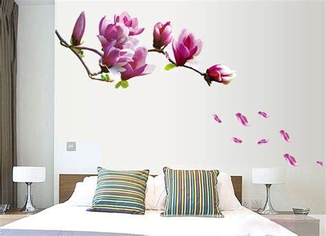 sticker da letto ufengke 174 fiori romantici adesivi murali da letto
