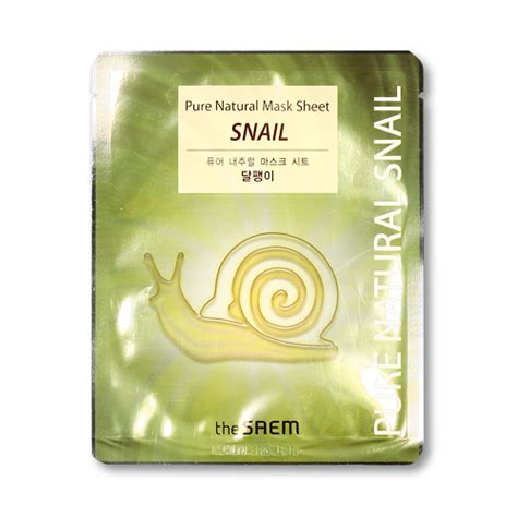 Sale Stock Sachet Snail White Mask Sachet Obral Murah 1 thesaem mask sheet 1pcs