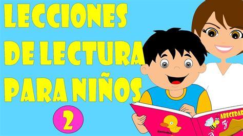 libros para leer para ninos de kindergarten lecciones de lectura para ni 241 os m 233 todo para ense 241 ar a leer a ni 241 os lectura infantil 2 youtube