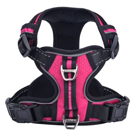 calming vest for dogs pupteck best front range no pull harness with vertical handle