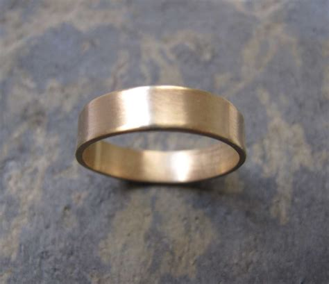 s thick gold band ring s thick wedding band