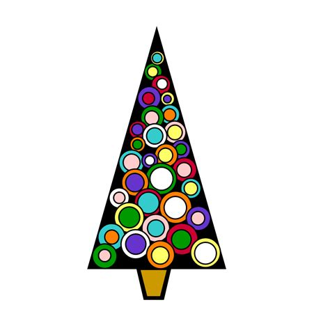 free christmas tree clip art images clipart best