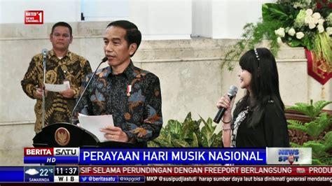Tshirt Hari Musik Nasional Hari Musik Nasional Presiden Wajibkan Lagu Indonesia Raya