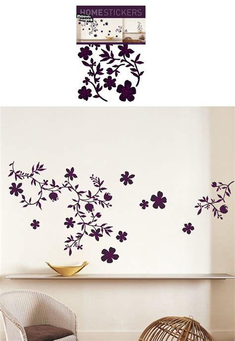 nouvelles images wall stickers nouvelles images guirlande prune wall decals