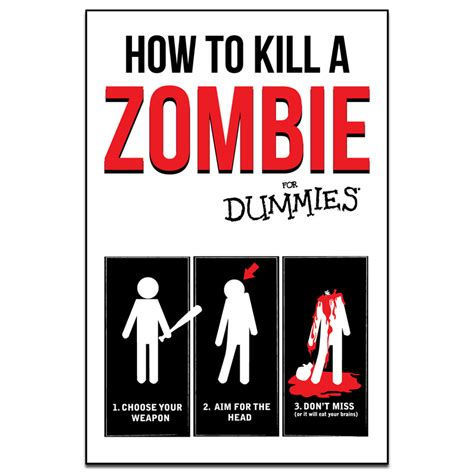 how to a to kill how to kill a for dummies poster 2 sizes available ships free
