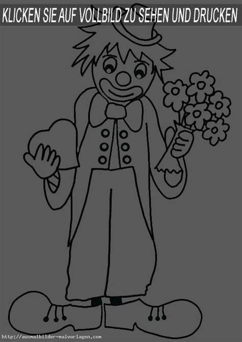 ausmalbilder clown 6   Ausmalbilder und Basteln mit Kindern