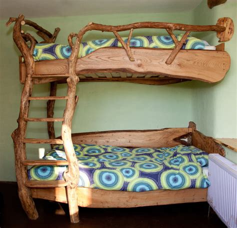 Childrens Handmade Beds - storybook cob house